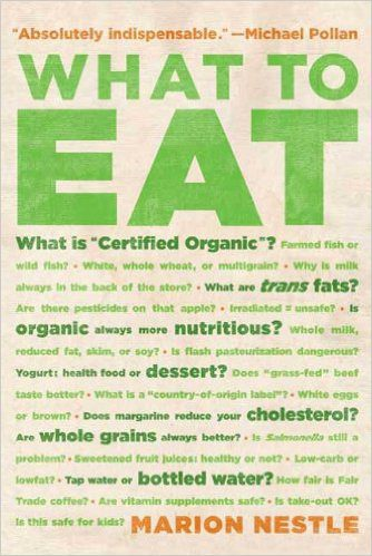 What to Eat book cover