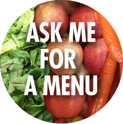 Ask me for a menu.